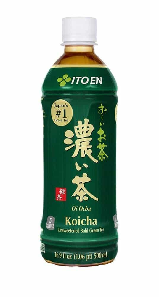 2021年最健康的瓶裝綠茶