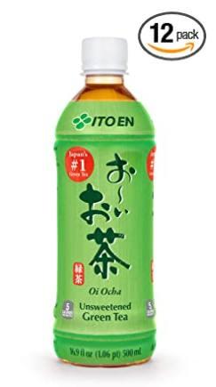 受歡迎的日本瓶裝綠茶品牌