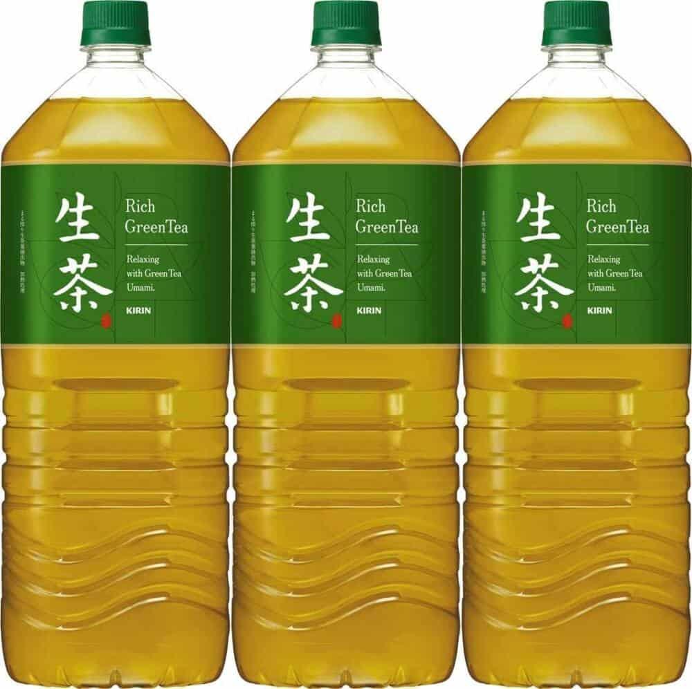 流行的日本瓶裝綠茶口味