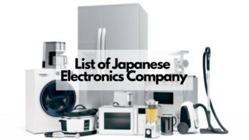 日本電子公司名單