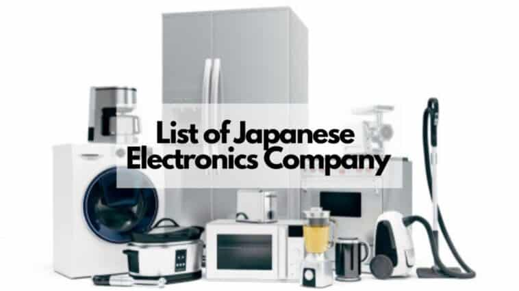 list of japanese electronics companies