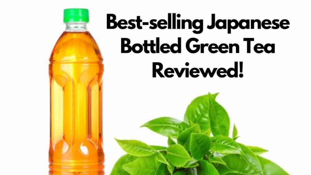 popular japanese bottled green tea