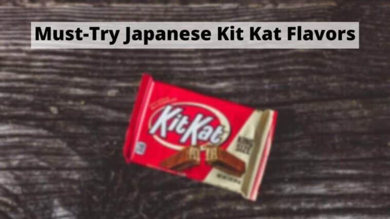 日本のキットカットフレーバーをぜひお試しください(1)