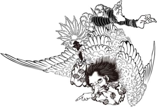Tengu japanese demon