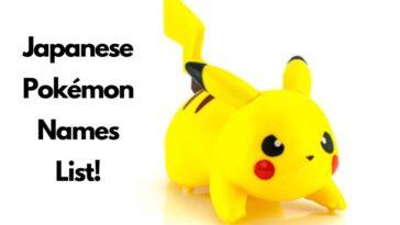 list of japanese pokemon names