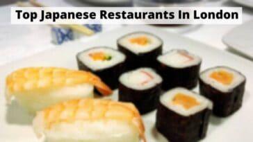 倫敦頂級日本餐廳