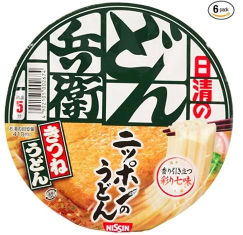 最好的日本即食拉麵素食