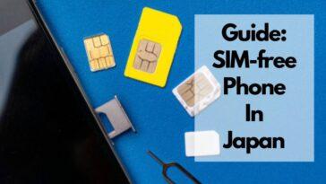 where to buy sim free phone in japan